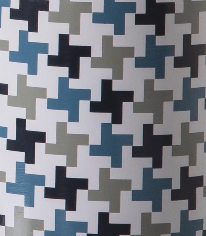 Lampe Gisèle - motif pixel