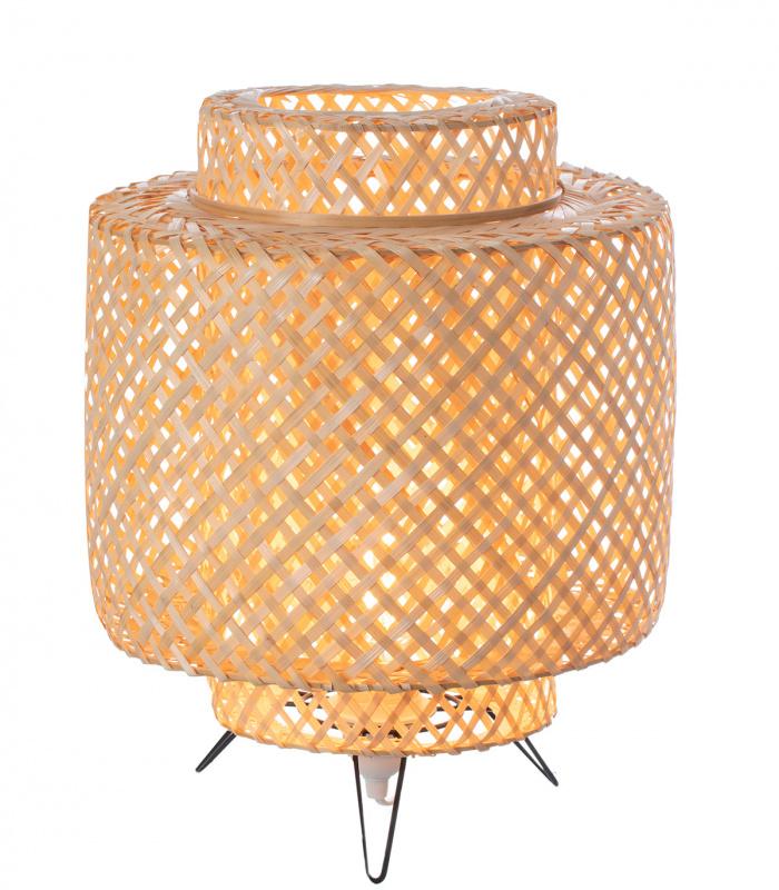 Lampe DORAMU trépied naturel