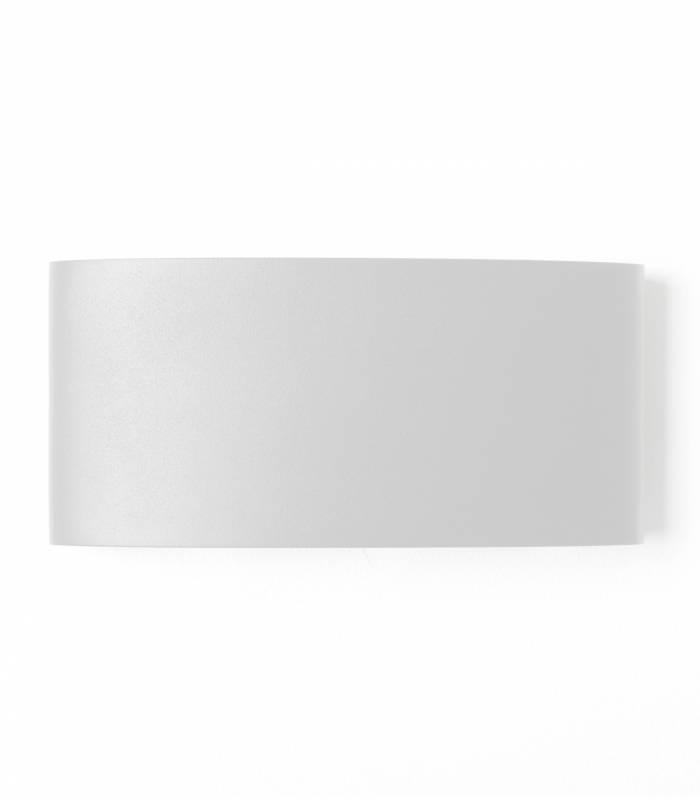 applique murale metal blanc