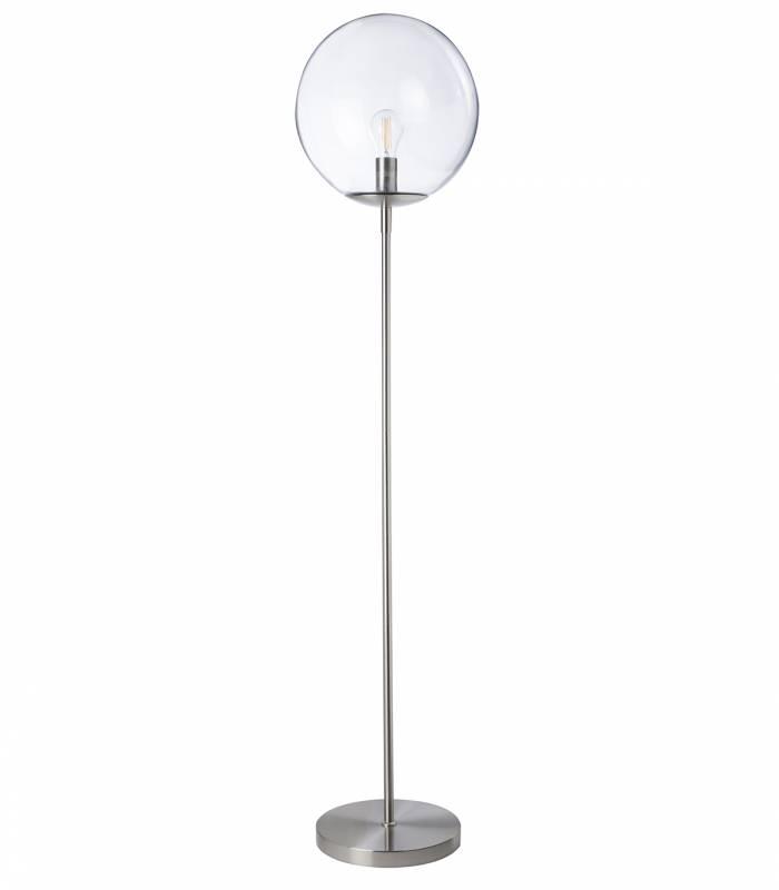 lampadaire-metal-argent-verre