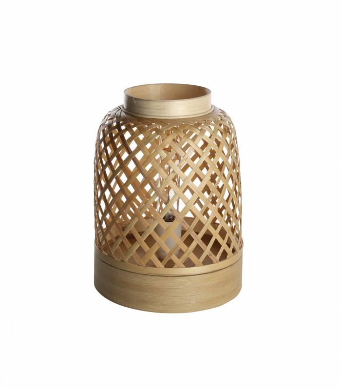 lampe bambou naturel