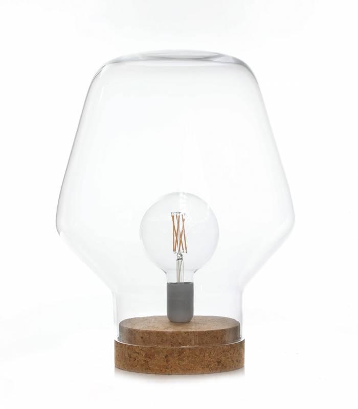 lampe-champignon-verre-liege
