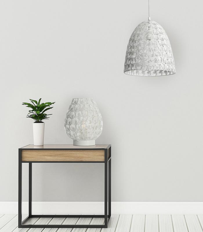 lampe-et-suspension-blanc-assorties