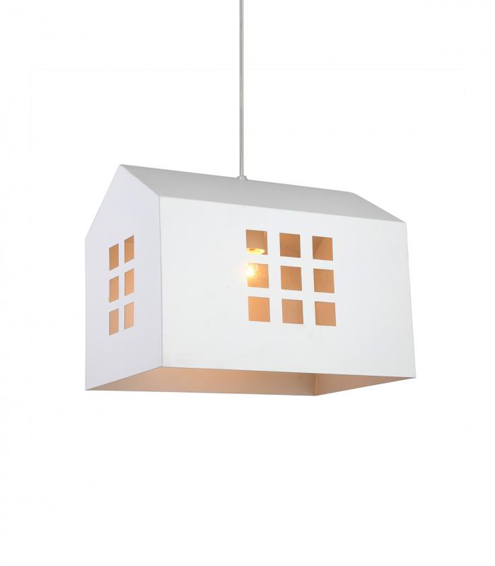Suspension HOUSE L Blanc